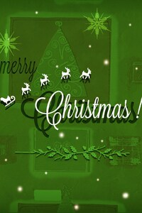 2160x3840 Merry Christmas HD