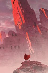 Messenger Reached Castle 4k