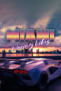 750x1334 Miami Racing Vibes Lamborghini 4k