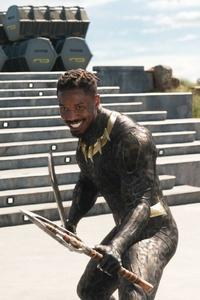 Michael B Jordan As Erik Killmonger In Black Panther 2018 Movie