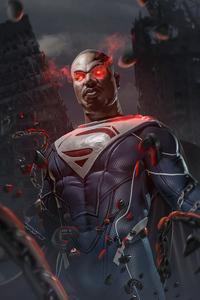 1242x2688 Michael B Jordan As Superman