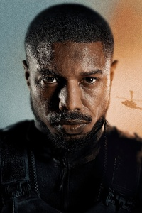 1242x2688 Michael B Jordan In Without Remorse Poster 4k