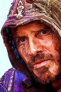 Michael Fassbender Assassins Creed Artwork