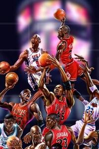 480x800 Michael Jordan Art