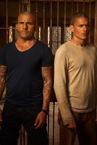 Michael Scofield And Lincoln Burrows In Prison Break Season 5 4k