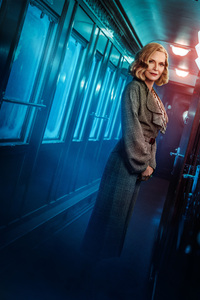 Michelle Pfeiffer As Mrs Hubbard Murder On The Orient Express 4k