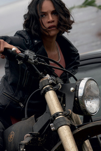 Michelle Rodriguez Fast And Furious 9 2020 Movie 5k