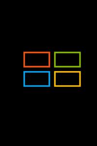 1125x2436 Microsoft Windows Logo Square