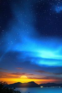 540x960 Midnight Sunrise 4k