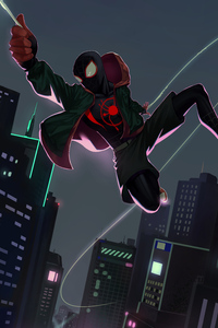 Miles Morales All The Way To City