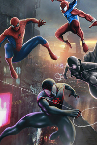 Miles Morales And Spider Noir