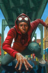 Miles Morales Art HD
