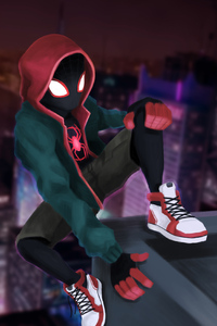 750x1334 Miles Morales New York City