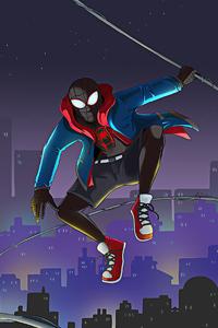 800x1280 Miles Morales Spider Man 2020