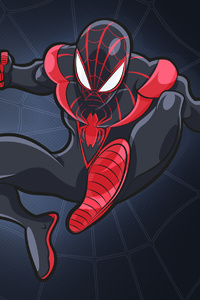Miles Morales Spider Man Art