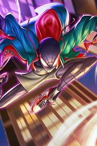 Miles Morales Spiderman 4k