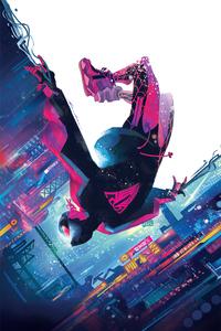 720x1280 Miles Morales Spiderman Cover Art