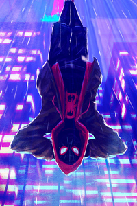 Miles Morales Spiderverse Arts