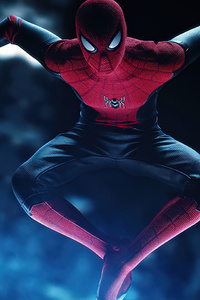 1440x2960 Miles Morales Suit Spiderman Ps5 5k