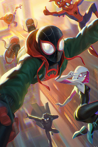 Miles Spider Man Artwork