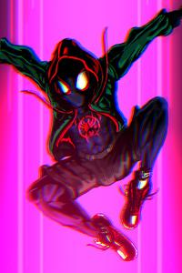 Miles Spider Verse Art