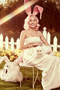 Miley Cyrus Easter Photoshoot 2018