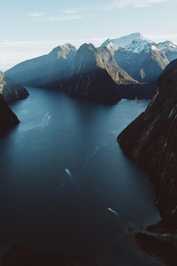 Milford Sound New Zealand 5k