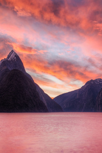 320x568 Milford Sound New Zealand