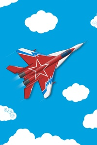 Military Aircraft Minimalism 5k