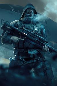 1080x2280 Military Man 4k
