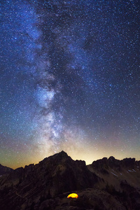 540x960 Milky Way In North Cascades