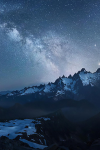 Milky Way Looking South 4k