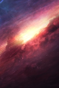 750x1334 Milkyway Space 8k