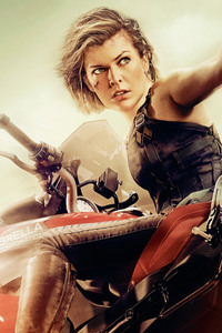 Milla Jovovich In Resident Evil The Final Chapter