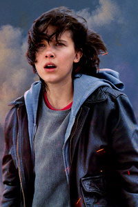 480x800 Millie Bobby Brown In Godzilla King Of The Monsters