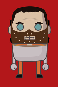 480x800 MiMe Hannibal Lecter