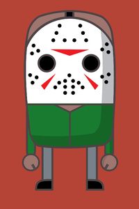 480x800 MiMe Jason The Friday 13th