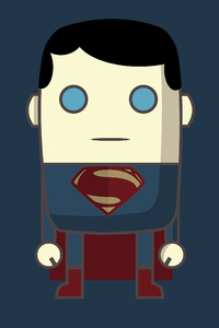 MiMe Superman Man Of Steel