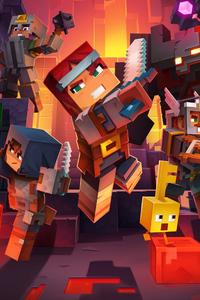1440x2560 Minecraft Dungeons 5k