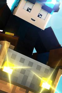 1080x2160 Minecraft HD