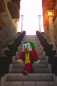 1080x1920 Minecraft Joker Lego