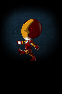 Mini Iron Man 4k
