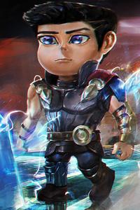 1280x2120 Mini Thor Art