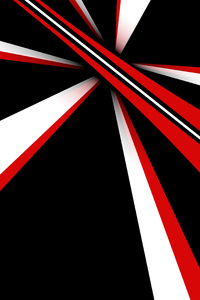 1242x2688 Minimal Abstract Red 4k