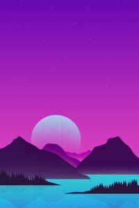 1080x2160 Minimal Landscape