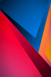 1440x2960 Minimal Shapes Sharp 4k