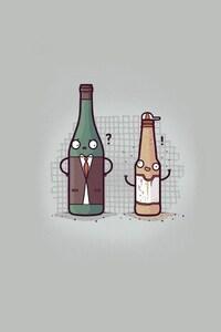 Minimalism Bottles