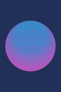 Minimalism Circle 4k
