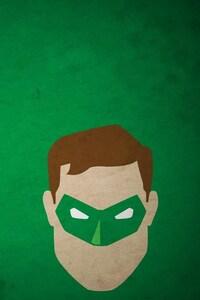 1125x2436 Minimalism Green Lantern