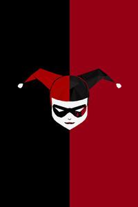 Minimalism Harley Quinn